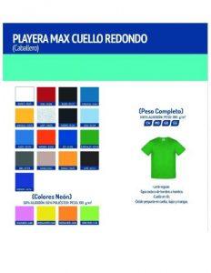 Playera Max Cuello Redondo » Distribuidor Master de las mejores marcas e14b621cc4107